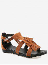 Plus Size Fringes Leisure Going Out Sandals -