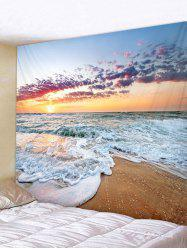 Sunshine Beach Print Tapestry Wall Art Decoration -
