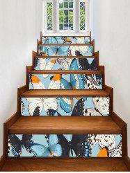 Flying Butterflies Removable Stair Stickers -