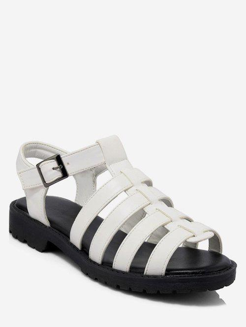 Affordable Plus Size Strappy Casual Holiday Sandals