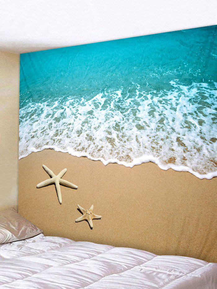 Shop Beach Starfish Print Tapestry Hanging Decoration