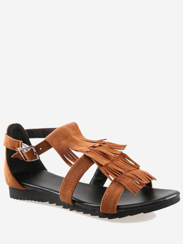 Latest Plus Size Fringes Leisure Going Out Sandals