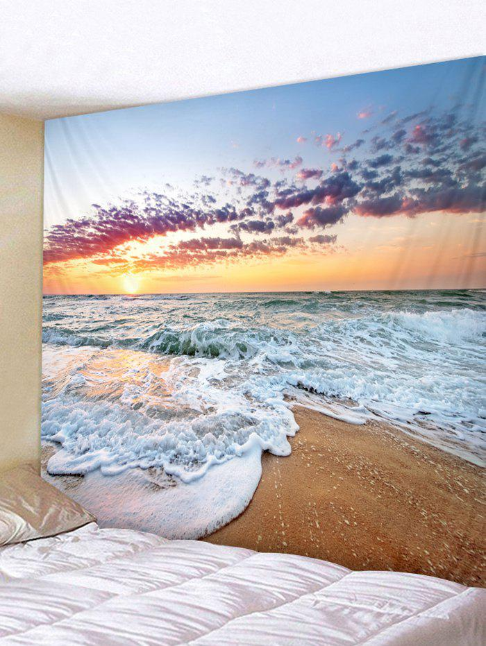 Store Sunshine Beach Print Tapestry Wall Art Decoration