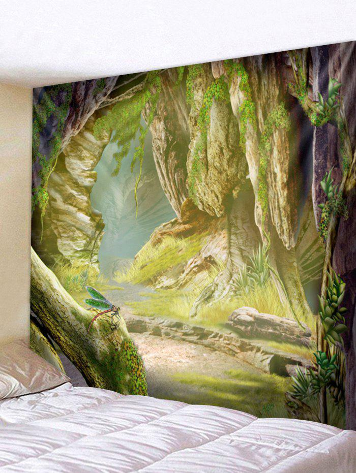 Affordable Wall Hanging Art Stone Cave Print Tapestry