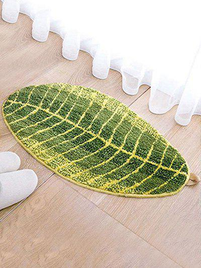 Online Leaf Shaped Water Absorption Area Rug