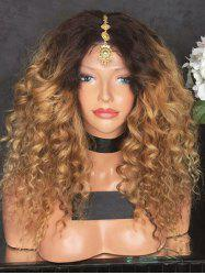 Long Center Parting Ombre Loose Wave Синтетический парик -