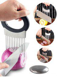 Vegetable Slicer Cutter Pin with Stainless Steel Soap -