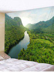 Forest River Printed Tapestry Art Decoration -