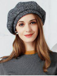 Vintage Solid Color Soften Beret -