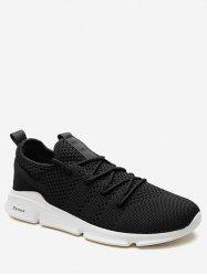 Lace Up Letter Embellished Sports Sneakers -