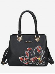 Going Out Fashion Flower Embroidery Handbag -