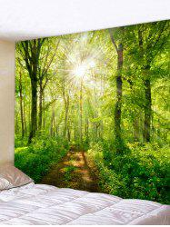 Sunshine Tree Printed Tapestry Wall Art Decoration -