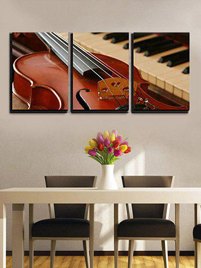 Hot Elegant Guitar Piano Print Canvas Wall Art