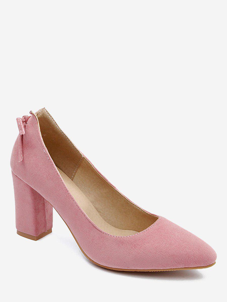 Outfits Plus Size High Heel Pointed Toe Bow Pumps