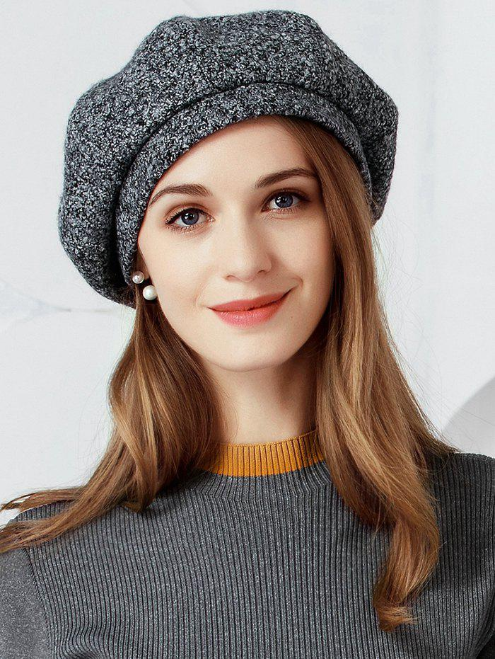 Hot Vintage Solid Color Soften Beret