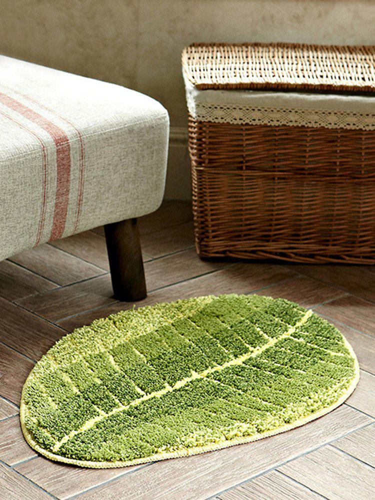 Latest Leaf Shaped Water Absorption Area Rug