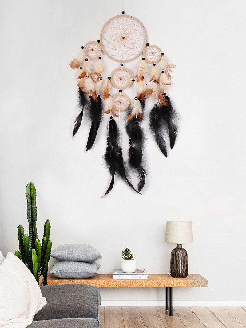 Store Beads Ornament Feathers Dream Catcher