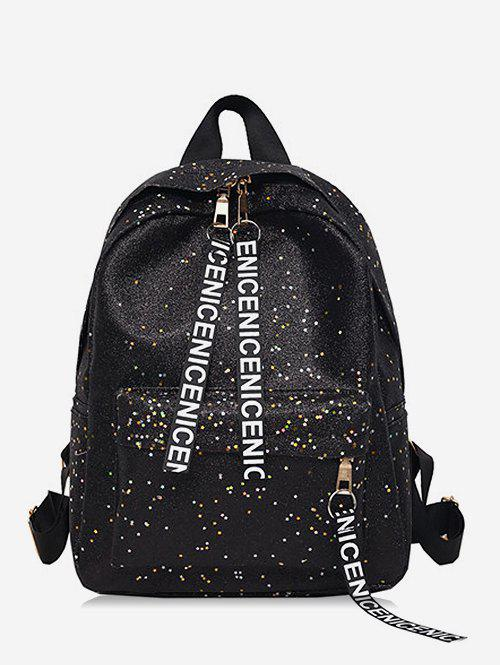 Trendy Daily Shining Glitters Practical School Backpack