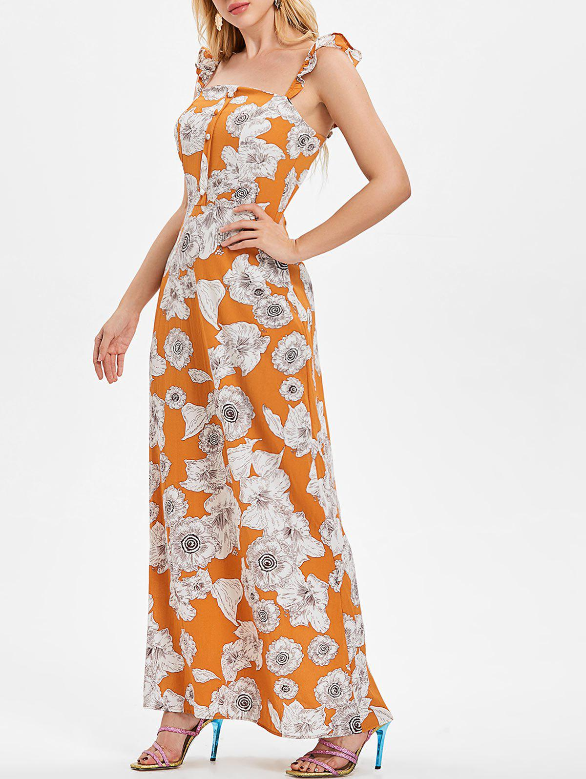 Cheap Floral Maxi Dress