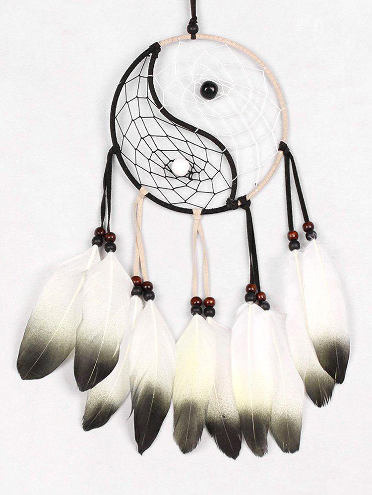 Core Bead Tai Chi Pattern Dream Catcher