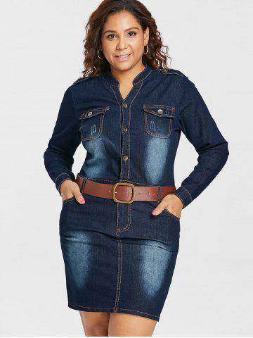 Blue Jeans Shirt - Free Shipping, Discount and Cheap Sale | Rosegal.com