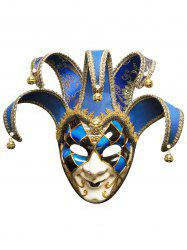 Halloween Festival Masquerades Party Jester Mask -