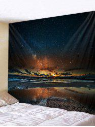 Sunset Glow Star Universe Tapestry Wall Decoration -