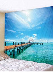 Sea Scene Tapestry Wall Decoration -