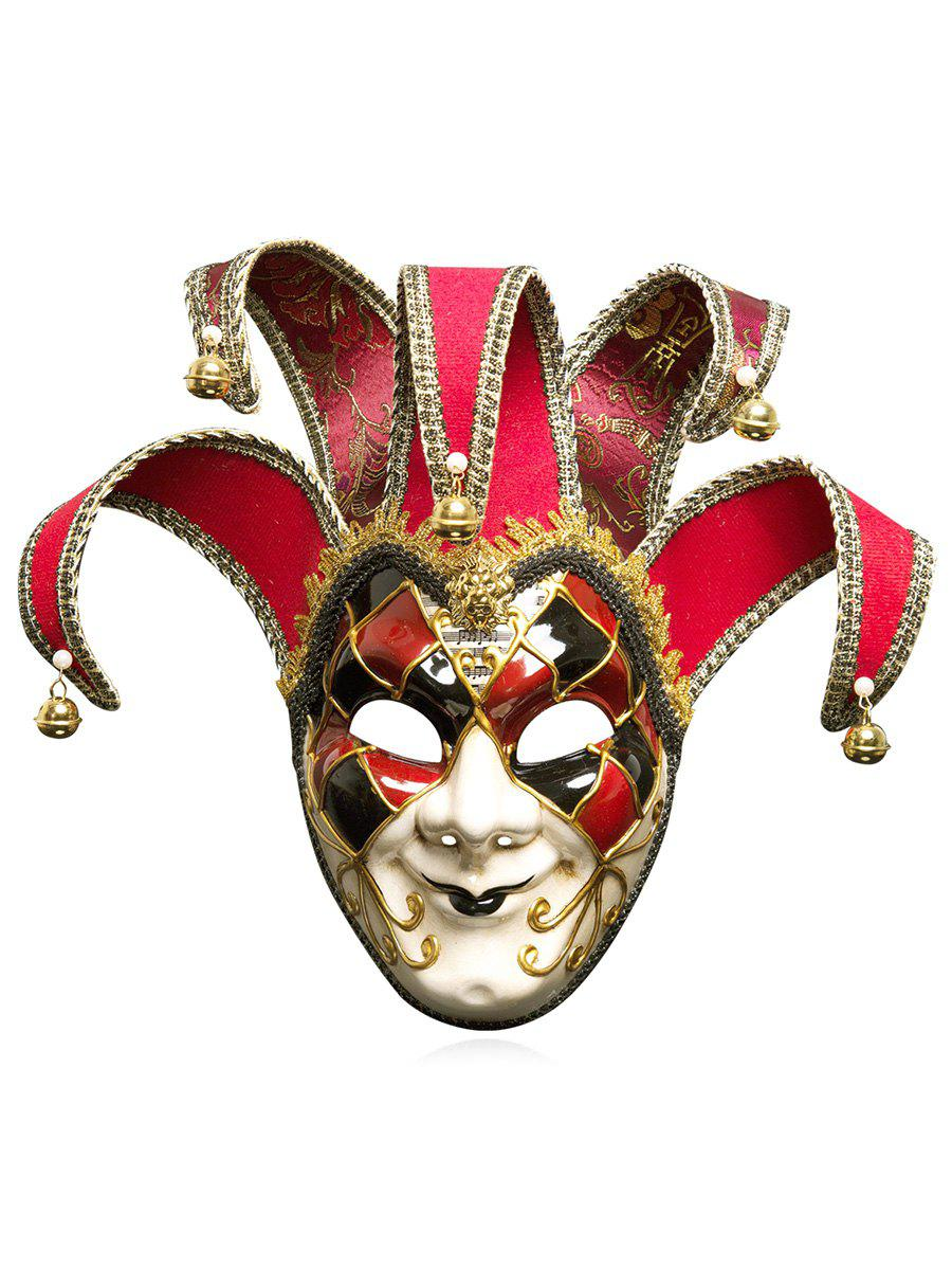 Chic Halloween Festival Masquerades Party Jester Mask