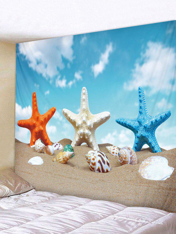 Online Starfish Conch Beach Tapestry Art Decoration