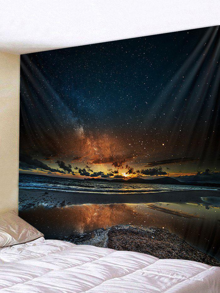 Unique Sunset Glow Star Universe Tapestry Wall Decoration