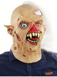 Zombie Head Mask Halloween Accessories -
