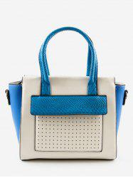 Color Block Going Out Leisure Handbag -