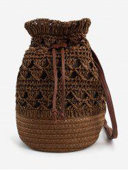 Outdoor Travel Woven Leisure Crossbody Bag -