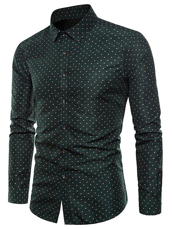 Sale Allover Printed Long Sleeve Shirt