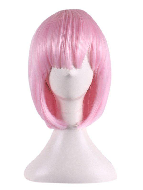 Shop Short Straight Bob Synthetic Rem Ram Anime Characters Cosplay Wig