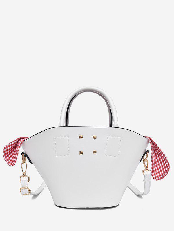 Hot Bucket Minimalist Faux Leather Tote Bag