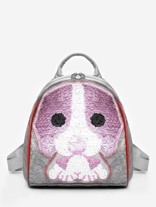 Outfits Leisure Convertible Cartoon Sequined Backpack