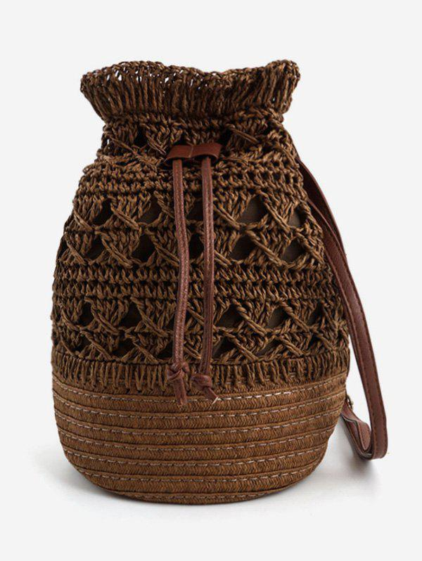 Latest Outdoor Travel Woven Leisure Crossbody Bag