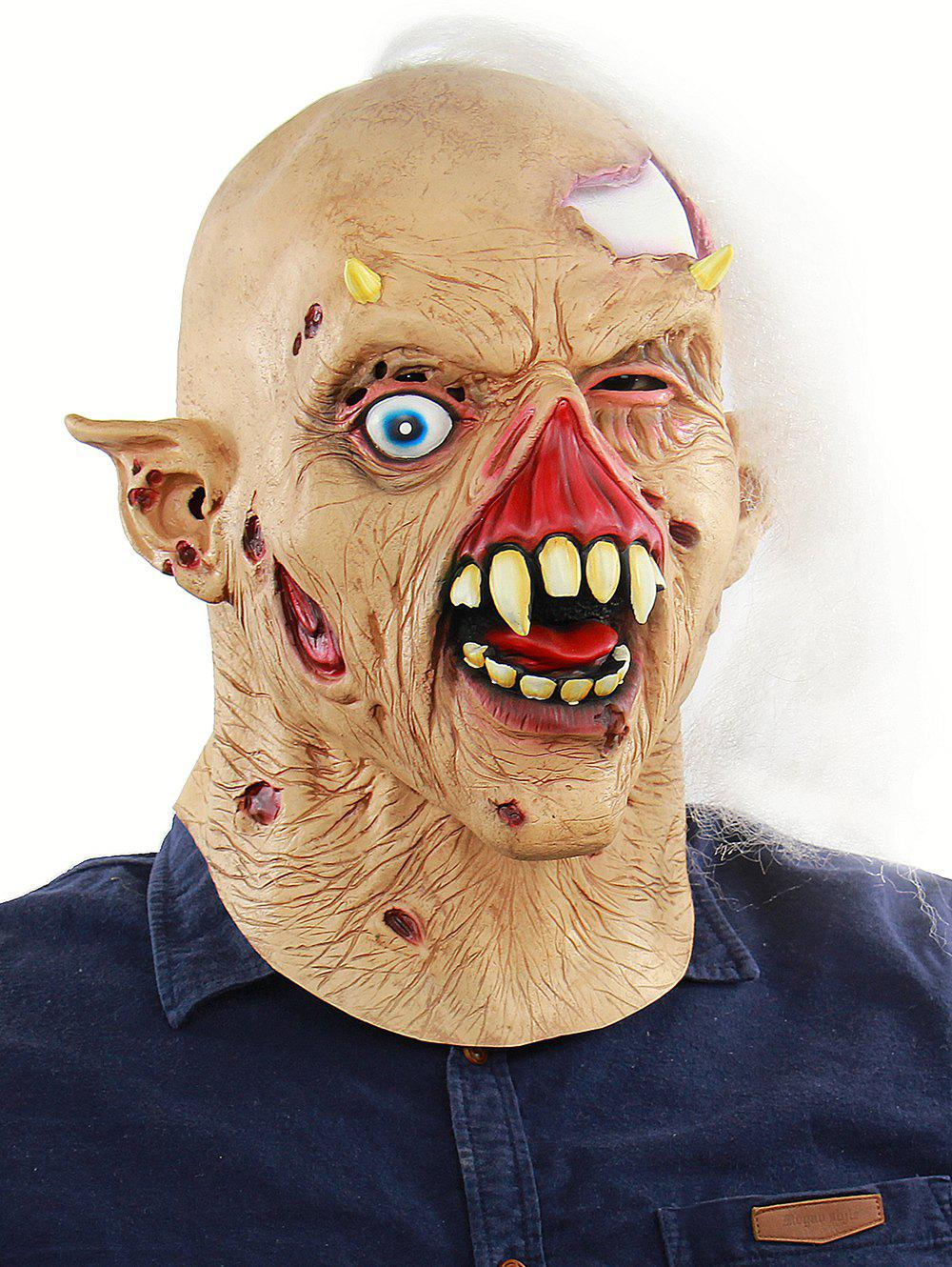 Online Zombie Head Mask Halloween Accessories