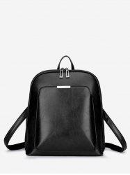 Solid Multi Functions Leisure Backpack -
