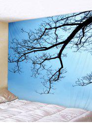 Wall Hanging Art Tree Branch Print Tapestry -