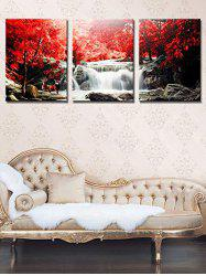 Unframed Mangrove Falls Printed Canvas Paintings -