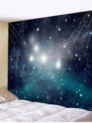 Wall Hanging Art Starry Sky Print Tapestry -