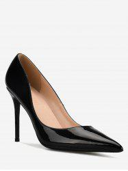 GOXEOU Casual Going Out Stiletto Heel Pumps -