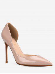 GOXEOU High Heel Chic Party Pointed Toe Pumps -