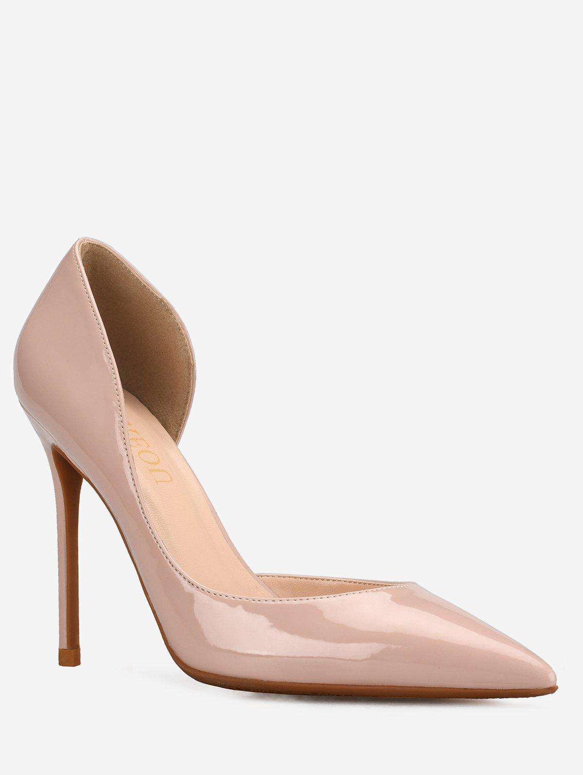 Cheap GOXEOU High Heel Chic Party Pointed Toe Pumps