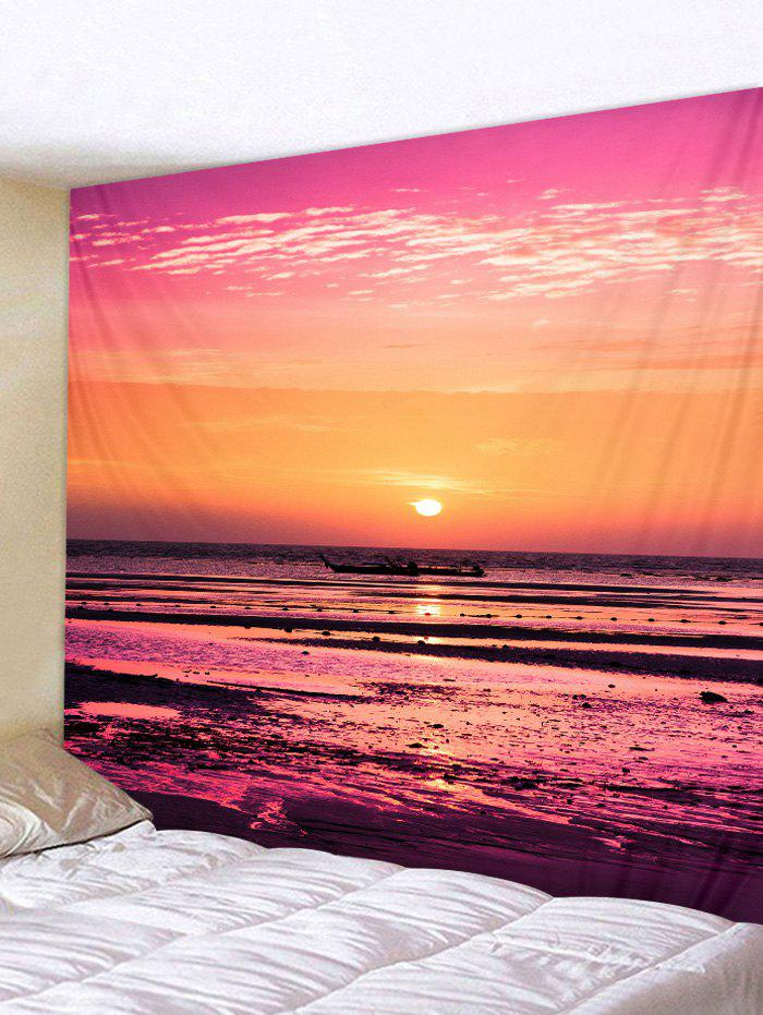 Discount Wall Hanging Art Waterside Sunset Print Tapestry