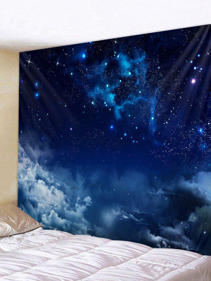 Shops Wall Hanging Art Starry Clouds Print Tapestry