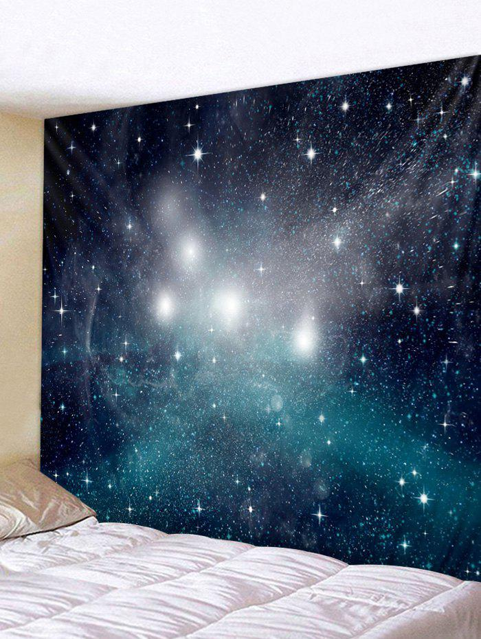 Chic Wall Hanging Art Starry Sky Print Tapestry